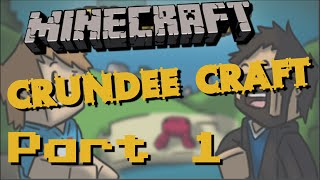Minecraft Crundee Craft - Silverfish?! [Part 1]