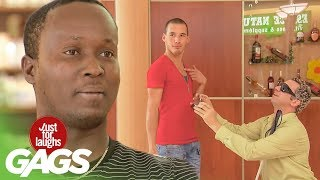 Blind Man Accidentally Proposes To Gay Man