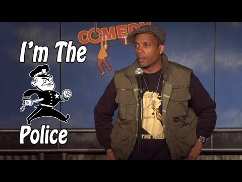 Stand Up Comedy by David Raibon - I'm the Police!