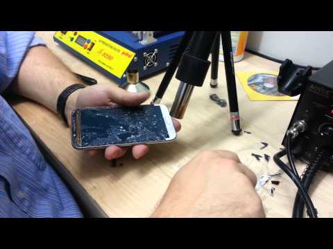 Galaxy Note II Glass Replacement at Prestige Electronics