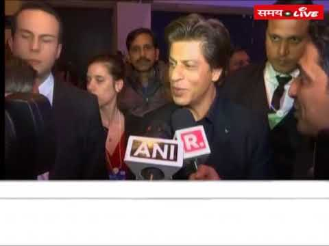 Shahrukh Khan spoke on honoured him from Crystal Award in Davos