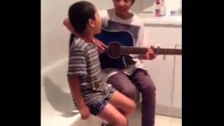 download lagu download musik download mp3 Mom caught her two sons singing Thinking out loud by Ed Sheeran