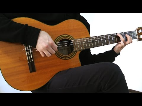 I Don't Want To Miss A Thing - Classical Guitar