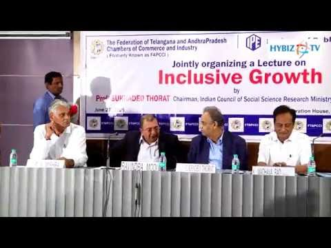 , Sukhadeo Thorat Speech-Inclusive Growth in India