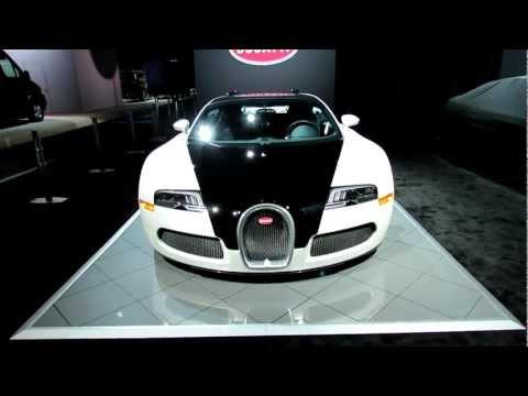 Bugatti  2012 Bugatti Veyron at 2012 New York International Auto Show