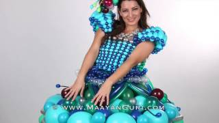A day for a balloon dress                      שמלה מבלונים