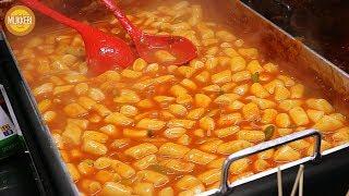 영등포 야시장 │ 닭갈비 떡볶이 │ Dakgalbi Tteokbokki │ 한국 길거리 음식 │ Korean Street Food