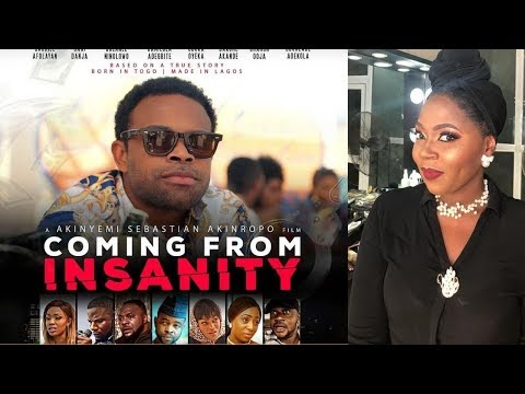 NOLLYWOOD- GABRIEL AFOLAYAN, ODUNLADE ADEKOLA,OTHERS IN 'COMING FROM INSANITY'