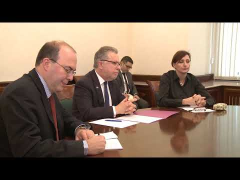 Президент Молдовы провел встречу с послом Франции