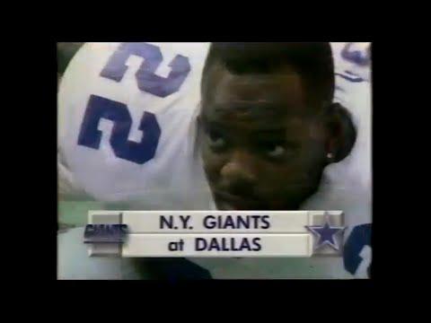 1993-11-07 New York Giants vs Dallas Cowboys