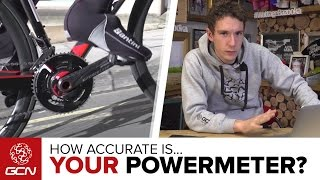 How accurate is your powermeter? Plus, if you don't have a powermeter, here's how to calculate your power without one. Subscribe to GCN: ...