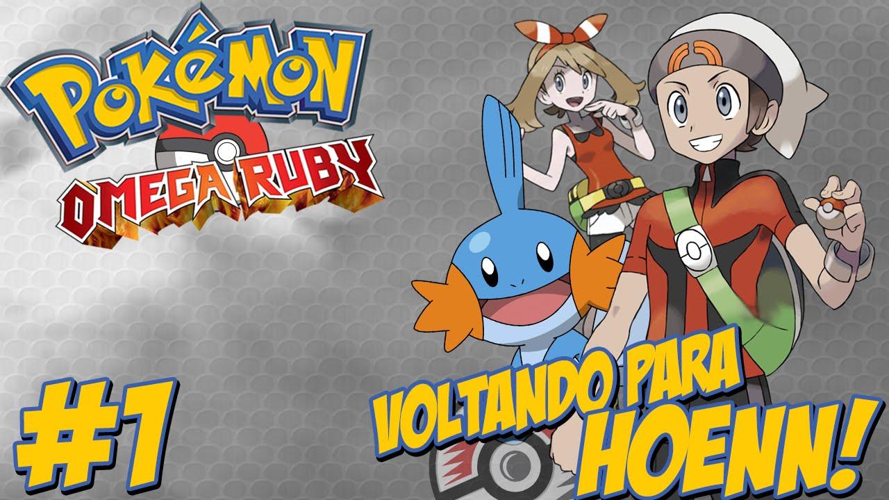 Ver Pokémon Omega Ruby #1 – O Início da Jornada / Bem Vindo a Hoenn / As Aventuras de Hueitir!! en Español Online