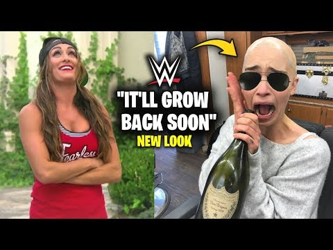 WWE Female Superstar FULLY CUTS OFF HER HAIR & REVEALS Stunning New Look That No One Saw Coming