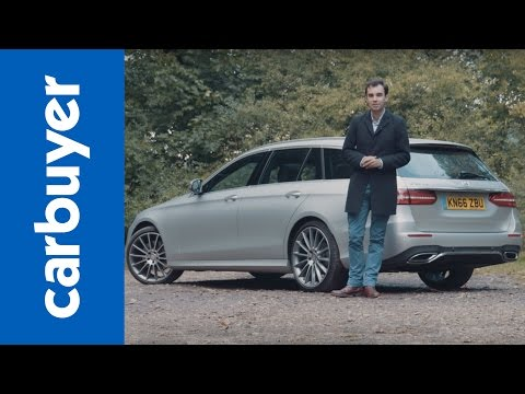 New 2016 Mercedes E-Class Estate in-depth review – Carbuyer – James Batchelor
