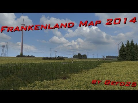Franconia Map v1.9 Forstmod ready
