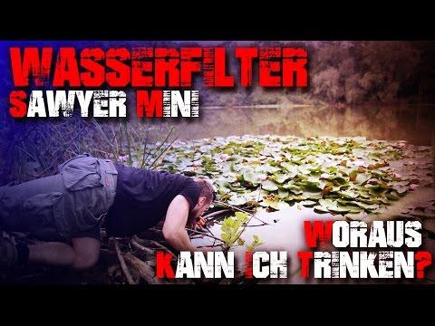 Wasserfilter Sawyer Mini - Review Test Outdoortest Bushcraft  (Deutsch/German)