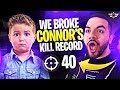 Download Lagu WE BROKE CONNOR'S KILL RECORD - THIS IS THE GOD SQUAD! (Fortnite: Battle Royale) Mp3 Free