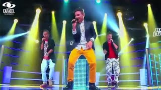 Luis, Juan David y Hernando cantaron 'La temperatura' de Maluma – LVK Colombia – Batallas – T1