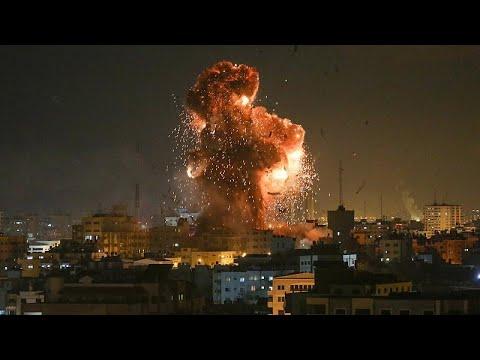 Επίθεση με ρουκέτες σε κτίριο στην Ασκελόν – Οι ισραηλινοί βομβάρδισαν τηλεοπτικό σταθμό…