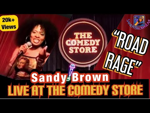 Road Rage after 9/11 by Comic Sandy Brown