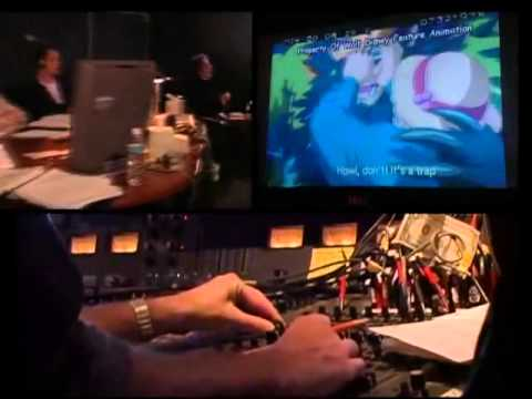 Howl's Moving Castle DVD Extra ~ Behind the Microphone
