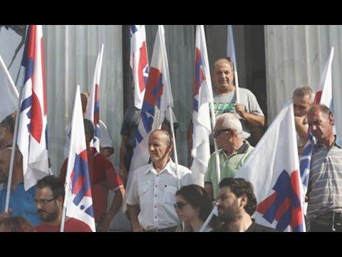 Ολοκληρώθηκε η κινητοποίηση του ΠΑΜΕ και των συνταξιούχων στο Ζάππειο