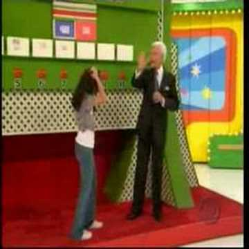 contestants - Playing Ten Chances and she has no idea how to play it. The reaction by Bob Barker at the end is priceless.