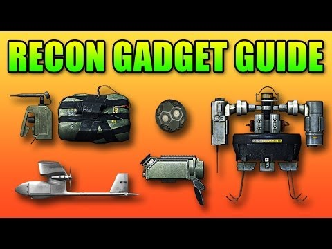 Recon Gadgets Guide: SUAV, T-UGS, Motion Sensor, C4, MAV (Battlefield 4 Gameplay/Commentary)