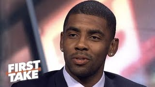 Kyrie Irving reveals why he left the Cavaliers | First Take
