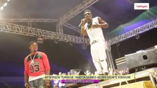 Shatta Wale shakes Accra Sports Stadium with Energetic performance music videos 2016