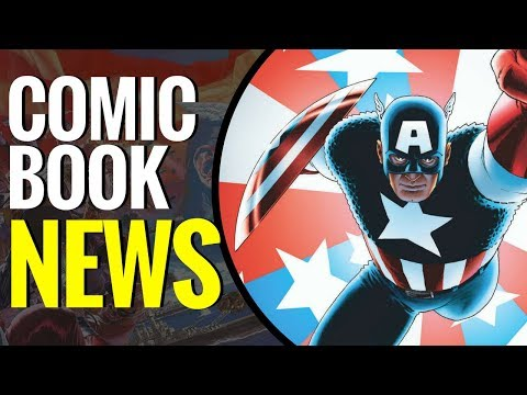 Captain America #1 Gets Awesome Variant