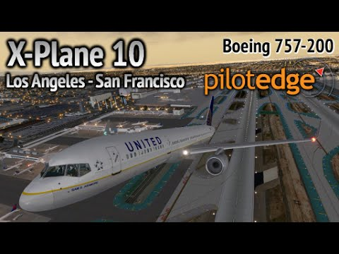 Full flight online on PilotEdge...