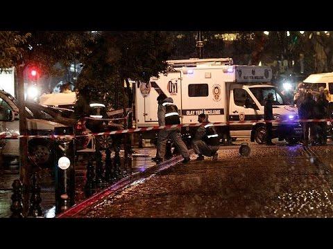 Istanbul : une femme kamikaze tue un policier