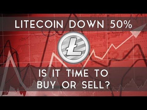 Litecoin Down 50%   Is it time to buy or sell? video