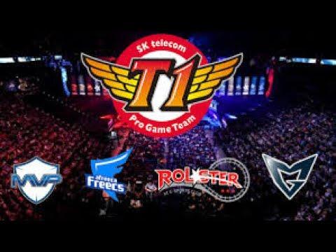 SKT LCK 2017 - SKT T1 Faker LCK Summer 2017 W6 - SK Telecom T1 - LoL Esports REBROADCAST
