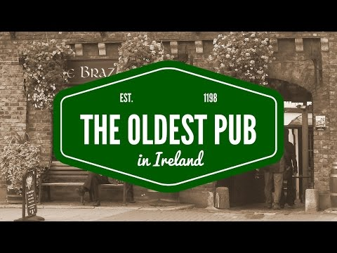 Visiting the oldest pub in Ireland