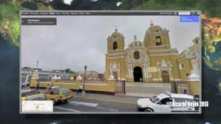 Suscríbete: http://bit.ly/MacDiaryGoogle Maps con Street View en Trujillo, Perú ¡DISPONIBLE!Google Maps con Street View permite explorar lugares de todo el mundo mediante imágenes a pie de calle de 360 grados. Podrás visitar monumentos del mundo, ver maravillas naturales, hacer una excursión, entrar en restaurantes y pequeños negocios e incluso visitar el Amazonas. Adéntrate en una demostración o navega por la galería para ver colecciones de todo el mundo.http://maps.google.comPeru (Country), En Perú, tras ocho meses recorriendo las calles del país, el servicio que permite ver ciudades al ras del piso mostrará imágenes de Lima, Trujillo Arequipa, Chiclayo y PiuraAhora ya esta disponible