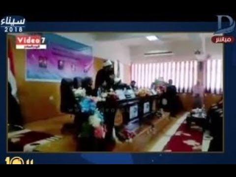 العرب اليوم - شاهد: وزير الأوقاف يهاجم طالب ويصفه بـ