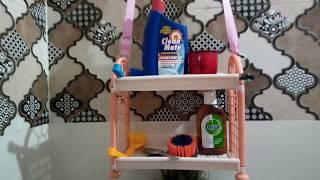 Small Bathroom Organization || Vlogs with Divya