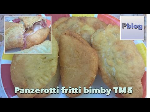 video ricetta: bimby - panzerotti pugliesi fritti