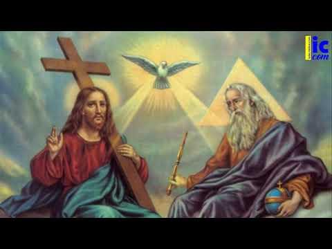 Oración a la Santísima Trinidad.