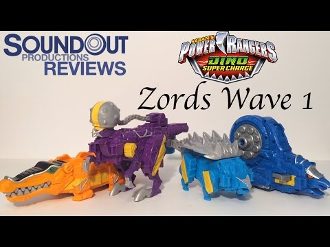 Power Rangers Dino Super Charge - Zords Wave 1 [Soundout Review]
