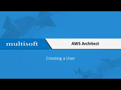 AWS Creating a User Training