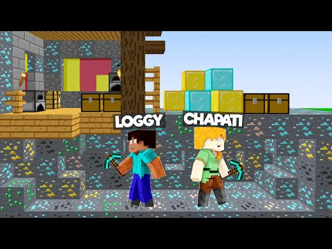 LOGGY STOLE OGGY DIAMONDS FROM CAVE!!!