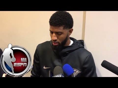 Video: Paul George on missing the All-Star Game: I have 'bigger dreams and bigger goals' | NBA on ESPN