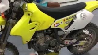 6. Simple dirt bike maintenance (DRZ400) part 1