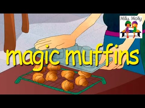 Milly Molly | Magic Muffins | S1E8