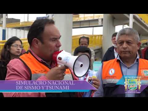 CON ÉXITO SMP REALIZA SIMULACRO NACIONAL DE SISMO Y TSUNAMI