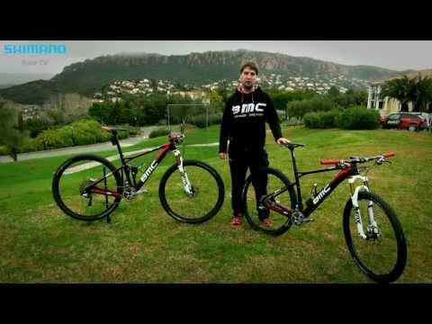 BMC Mountain Bike Racing team bikes