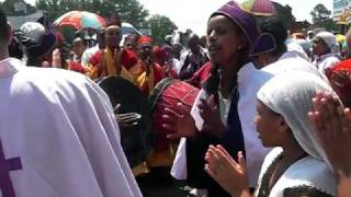 Ethiopian Orthodox Church Debre Haile Kidus Gebriel 2009 Part 1